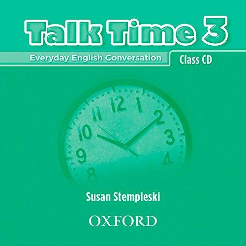9780194382199: Talk Time 3: Class CD