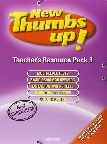 9780194383301: Thumbs Up 3: Resource Pack New Edition