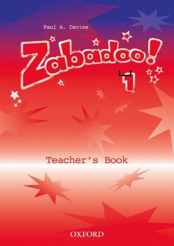 9780194383622: Zabadoo! 1: Teacher's Book