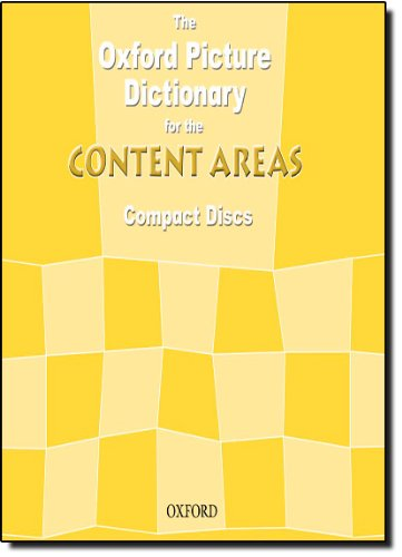 9780194384001: The Oxford Picture Dictionary for the Content Areas (Audio CDs)