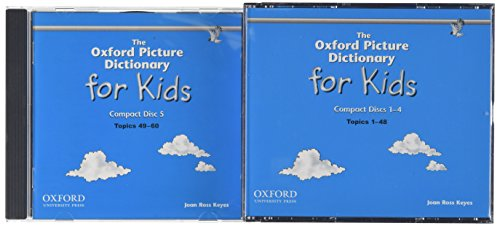 9780194384018: The Oxford Picture Dictionary for Kids (Audio CDs)