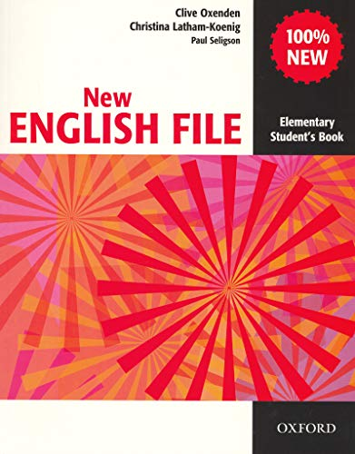 9780194384254: New English File: Student's Book Elementary level: Six-level General English Course for Adults (CD not included)