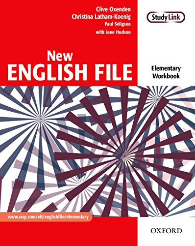 9780194384285: New English File: Workbook Elementary Level: Six-Level General English Course for Adults