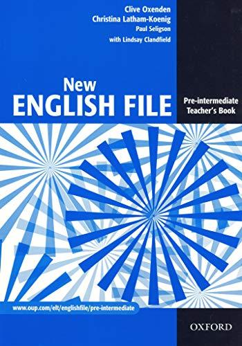 9780194384346: New English File: Teacher's Book Pre-intermediate level