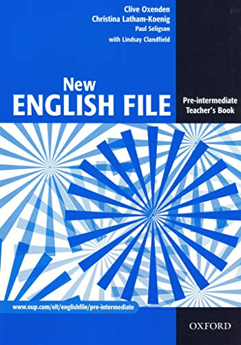 9780194384346: New English File: Teacher's Book Pre-intermediate level