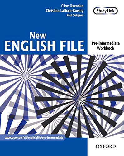 9780194384360: New English File: Pre-intermediate: Workbook: Six-level general English course for adults: Workbook Pre-intermediate lev
