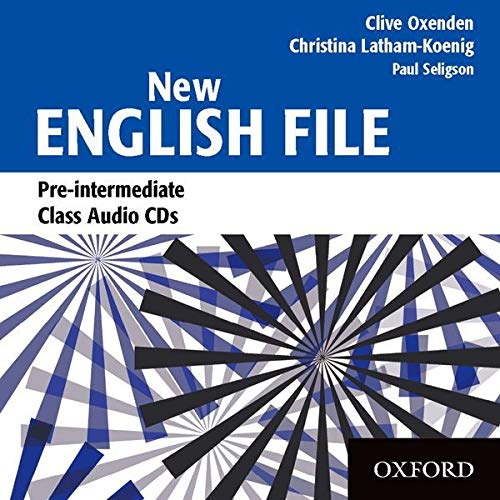 9780194384384: New English File Pre-Intermediate: Class CD (3): Class Audio CDs Pre-intermediate lev (New English File Second Edition)
