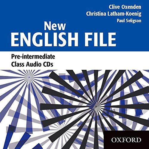 9780194384384: New English File Pre-intermediate: Class Audio CDs (3)