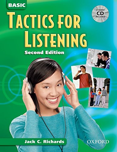 9780194384513: Basic Tactics for Listening: Student Book with Audio CD