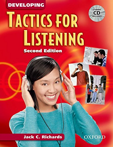 9780194384551: Developing Tactics for Listening: Student Book with Audio CD