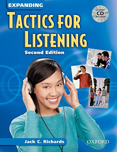 9780194384599: Tactics for Listening: Expanding Tactics for Listening, Second Edition: Tactics for Listening Expanding: Student's Book with Audio CD 2nd Edition
