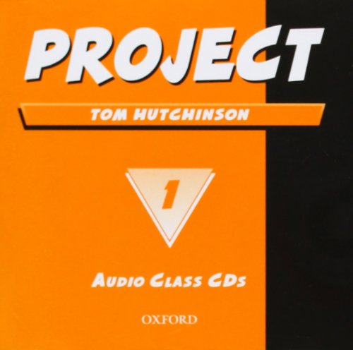 9780194385169: Project 1 Second Edition: Class Audio CDs (2)