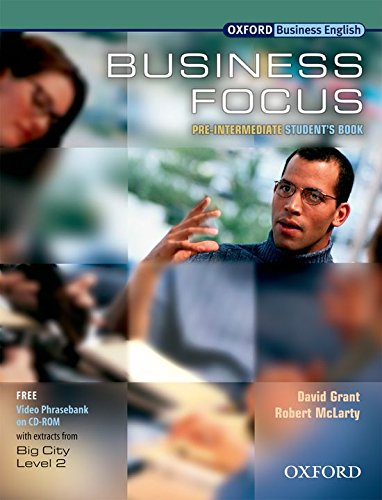 9780194385480: Business Focus Pre-Intermediate. Student's Book with CD-ROM Pack: Student's Book Pre-intermediate lev