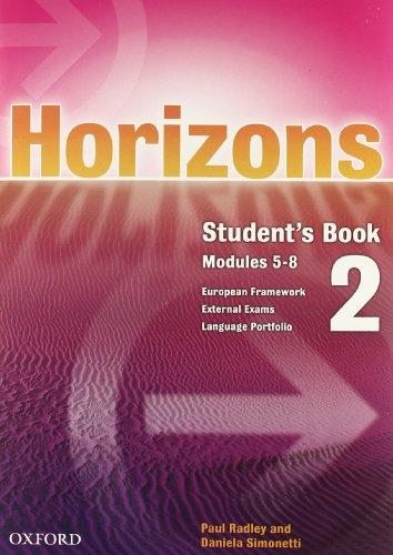 9780194386234: Horizons. Student's book-Workbook. Con CD Audio. Con CD-ROM. Per le Scuole superiori: 2