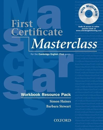 9780194386272: First Certificate Masterclass Workbook
