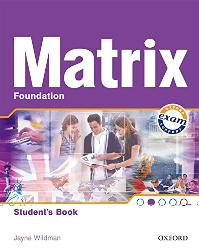 9780194386456: Matrix Foundation: Student's Book