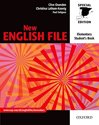 9780194386715: New English File Elementary: Student's Book for Spain (New English File Second Edition)