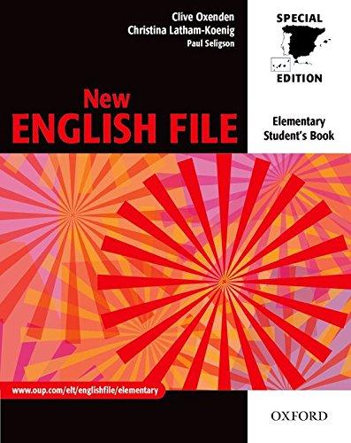 9780194386715: New english file elem sb for spain