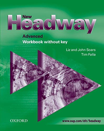 9780194386876: New Headway: Advanced: Workbook (without Key)