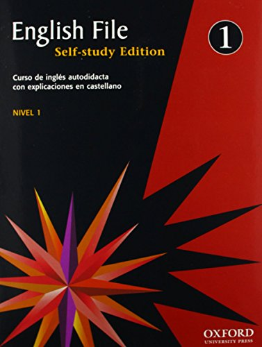 9780194387255: ENGLISH FILE 1 SELF STUDY