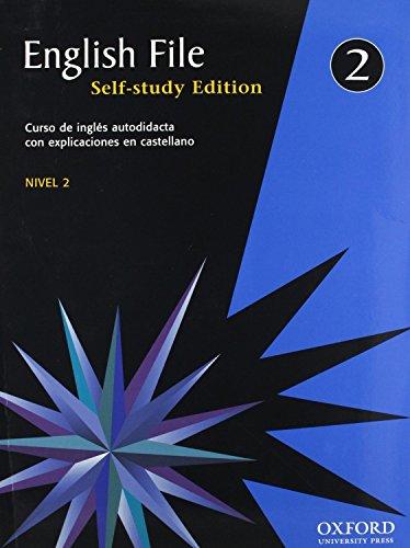 9780194387316: English File 2. Self Study (English File First Edition)