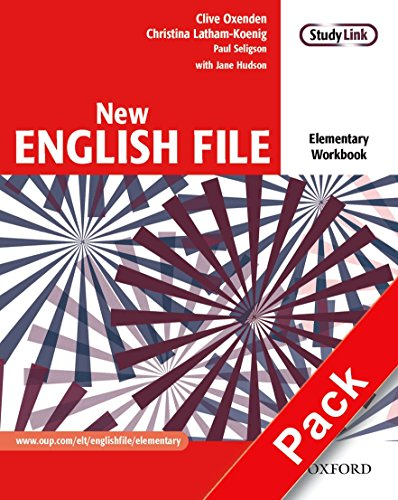 9780194387668: New English File Elementary. Workbook with MultiROM Pack: Workbook and MultiROM Pack Elementary level (New English File Second Edition)
