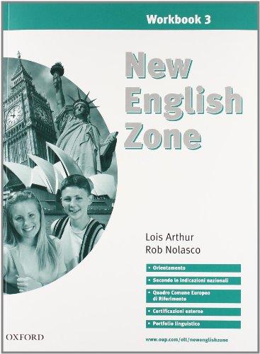9780194387897: New english zone. Student's pack. Student's book-Workbook. Con CD Audio. Per la Scuola media: 3