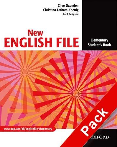 9780194387972: New english file. Elementary. Student's book-Workbook. With key. Per le Scuole superiori. Con Multi-ROM