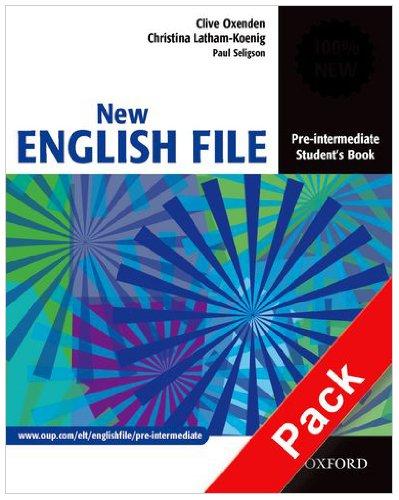 9780194387989: New english file. Pre-intermediate. Workbook. Without key. Per le Scuole superiori. Con Multi-ROM