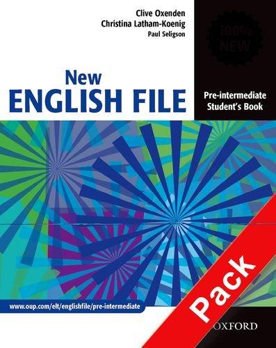 9780194387996: New english file. Pre-intermediate. Student's book-Workbook. With key. Per le Scuole superiori. Con Multi-ROM