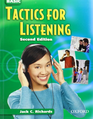 9780194388429: Tactics for Listening: Basic Tactics for Listening: Basic Tactics for Listening: Student's Book