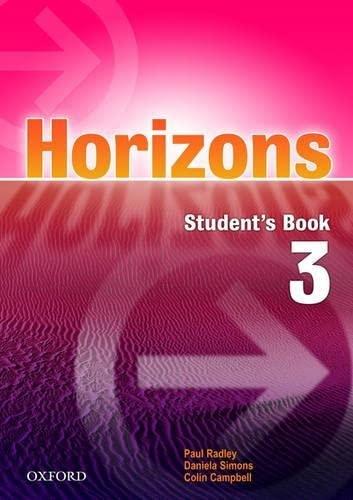 9780194388788: Horizons 3: Student's Book