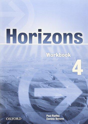 9780194388832: Horizons 4: Workbook