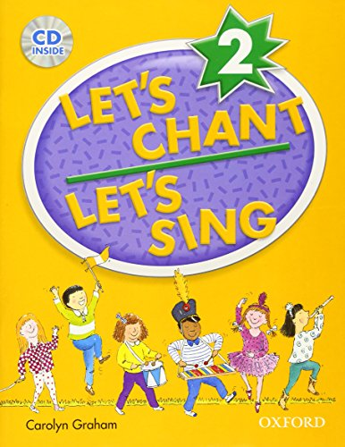 9780194389167: Let's Chant, Let's sing 2 book and audio cd