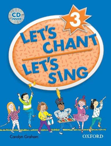 9780194389174: Let's chant, let's sing 3 (1CD audio)