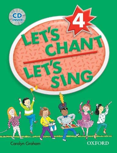 9780194389181: Let's Chant, Let's Sing: 4: CD Pack: CD pack 4