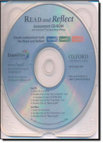 9780194391658: Read and Reflect Assessment CD-ROM: with ExamViewn Test Generator