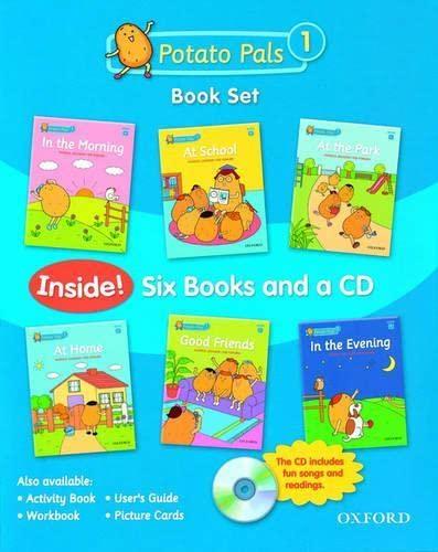 9780194391740: Potato Pals 1: Book Set with Audio CD