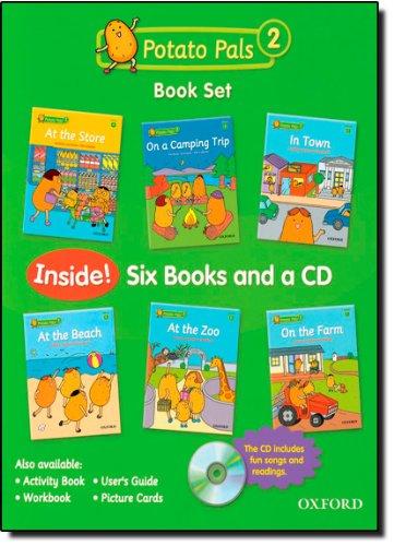 9780194391825: Potato Pals 2: Book Set with Audio CD