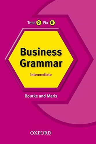 9780194392068: Test It, Fix It: Business Grammar