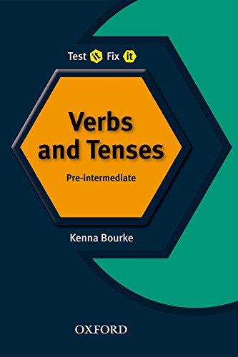 9780194392198: Test it, Fix it: Verbs and Tenses:: Pre-Intermediate