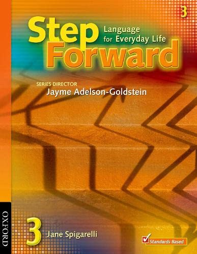 9780194392266: Step Forward 3: Student Book: Language for Everyday Life