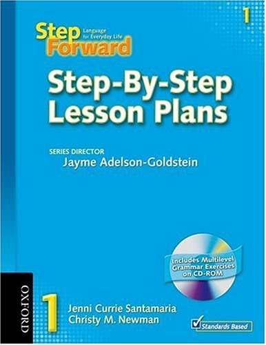 9780194392280: Step Forward 1: Language for Everyday Life Step-By-Step Lesson Plans with Multilevel Grammar Exercises CD-ROM