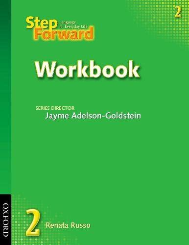 9780194392334: Step Forward 2: Workbook