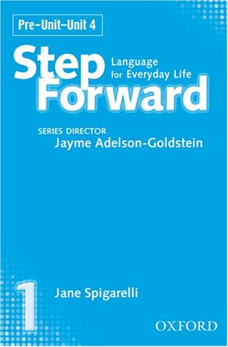 9780194392365: Step Forward 1: Language for Everyday Life Class Cassettes