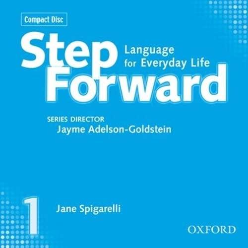 9780194392402: Step Forward 1 Class CDs (3)
