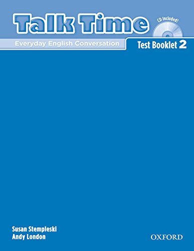 9780194392921: Talk Time 2 Test Booklet with Audio CD (Talk Time Series)