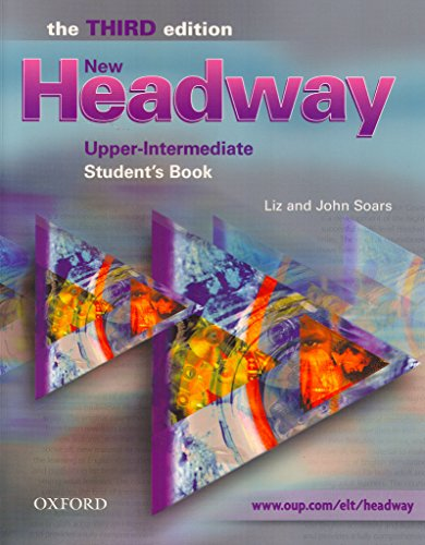 9780194392990: New Headway: Upper-Intermediate Third Edition: Student's Book (Headway ELT)