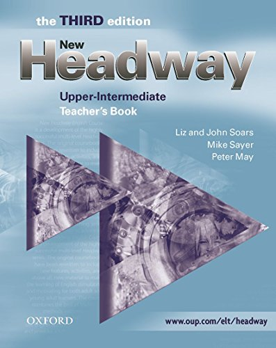 9780194393003: New Headway: Upper-Intermediate Third Edition: Teacher's Book: Six-level general English course