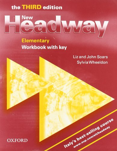 9780194393119: New headway. Elementary. Workbook. With key. Per le Scuole superiori